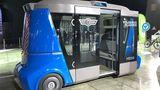 """Volgabus zeigte ein Robo-Taxi, das dem e.Go Mover auf frappierende Weise ähnelt und den Namen """"Vladimir"""" trägt"""