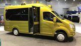 """Der Kleinbus """"Next"""" wird beim Personentransport eingesetzt"""