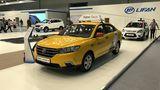 Der chinesische Autobauer präsentiert den Lifan Solano II als Taxi