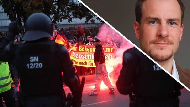 """Martin Kohlmann, der Rechts-Anwalt hinter """"Pro Chemnitz"""""""