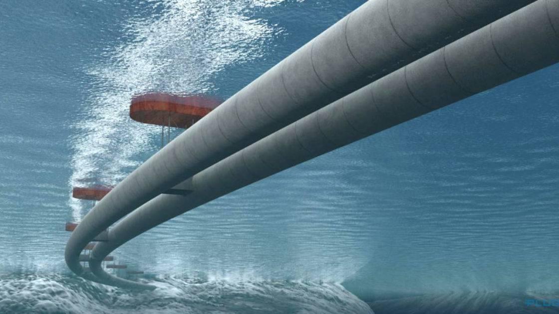 E39 Norwegen: Schwimmende Brücken und Röhren im freien Meer - die teuerste Autobahn der Welt