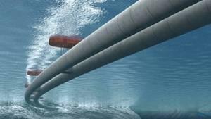 Ein Autobahntunnel, der frei im Wasser hängt - für viele eine unheimliche Vorstellung.
