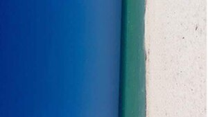 Blau, türkis und weiß – was sehen wir hier?