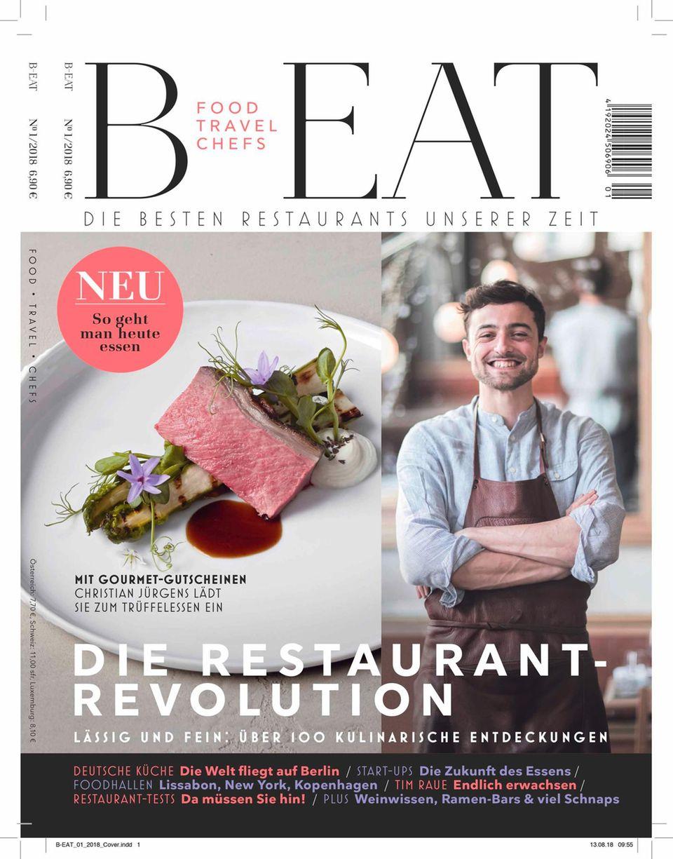 B-EAT ist das neue Food-Magazin für Gerneesser und Gastronomiefans, für Restaurantoftbesucher, für Ernährungsinteressierte und Foodfreaks, für Wein-, Champagner und Bierenthusiasten. B-EAT will die neue deutsche Küche - the New German Cuisine - journalistisch begleiten.