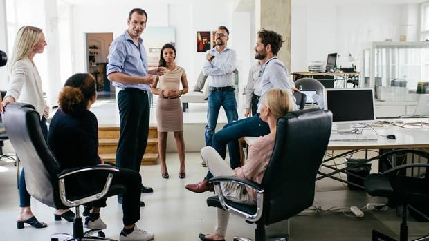 Ein Büro, viele unterschiedliche Typen (Symbolbild)