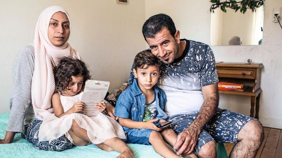 Heute lebt Sadanal-Abdallah mit ihren Eltern und Bruder Yazan bei Offenburg
