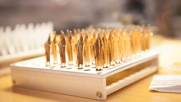 Glanzvoll: Alle Federn bei Montblanc sind aus Gold
