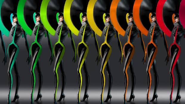 """Prächtiges Kostüm-Design für die """"VIVID Grand Show"""""""