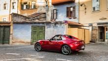 Der Mazda MX-5 RF im rumänischen Sibiu