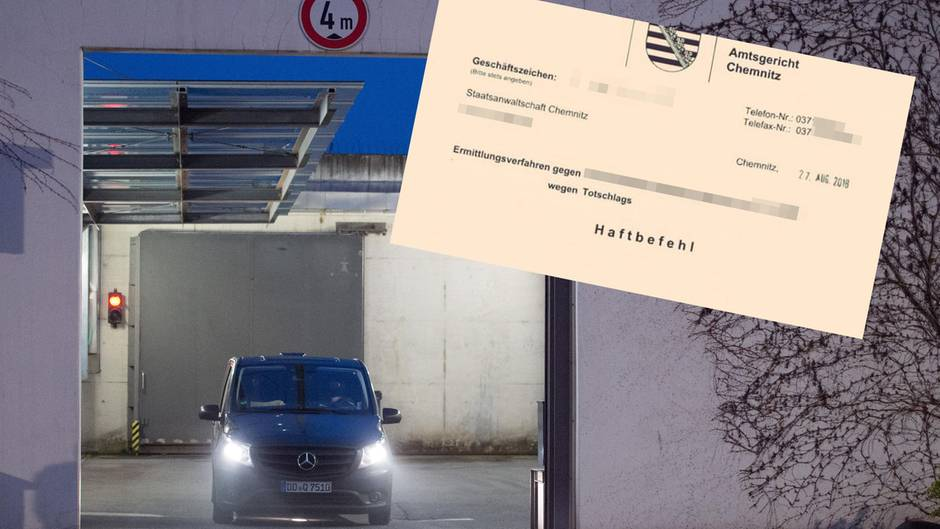 Die JVA in Dresden: Hier sitzen die beiden im Chemnitzer Tötungsdelikt Verdächtigten ein