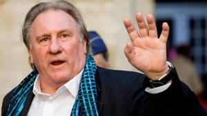 Gérard Depardieu weist die Vorwüfe gegen ihn zurück