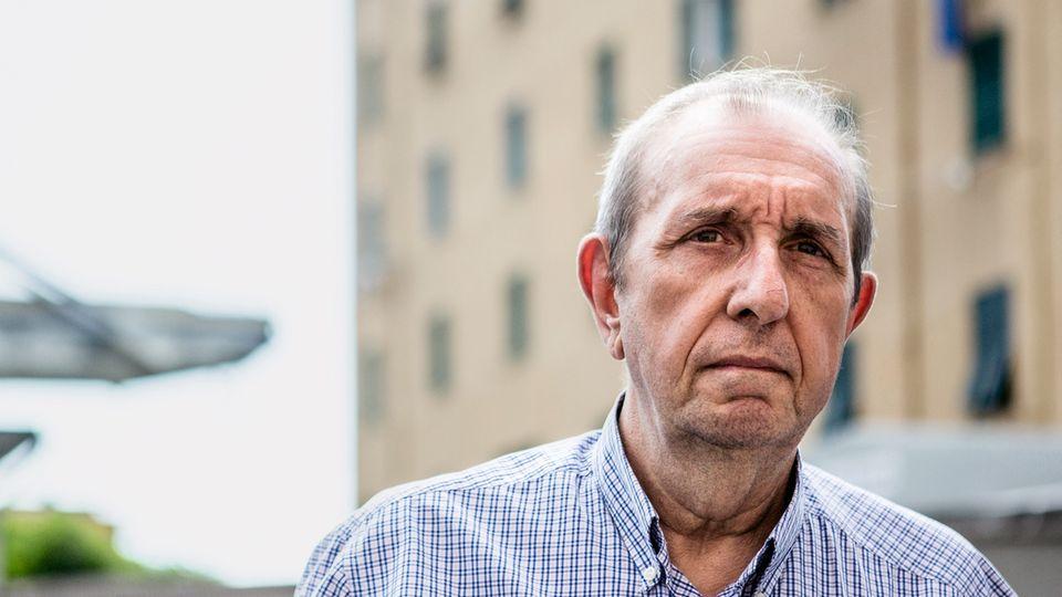 Schon Ennio Guerci ist hier aufgewachsen, seine Söhne wurden in dem Viertel unter der Brücke geboren. Jetzt darf er nicht mehr in seine Wohnung