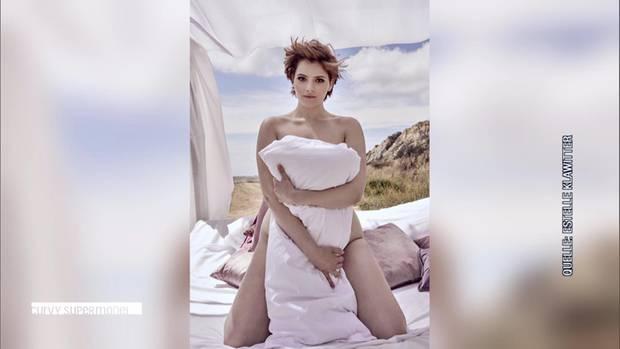 Kandidatin Schulamit beim Nackt-Shooting