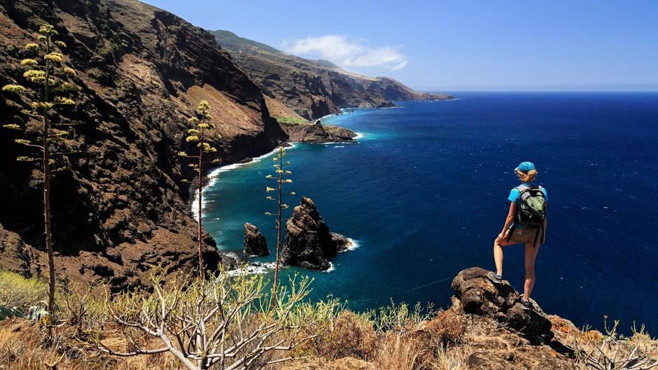 Paradies für Outdoor-Enthusiasten: die Kanareninsel La Palma.