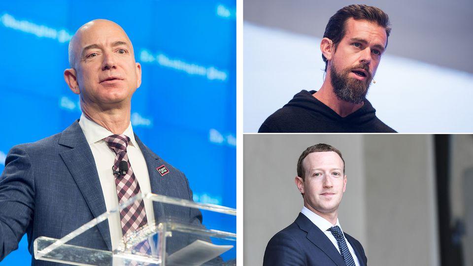Klage gegen Militär-Superdeal: Der reichste gegen den mächtigsten Mann der Welt: Nächste Runde im Kampf Bezos gegen Trump