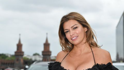 "Sabia Boulahrouz beim Pressetermin zu ""Global Gladiators"""