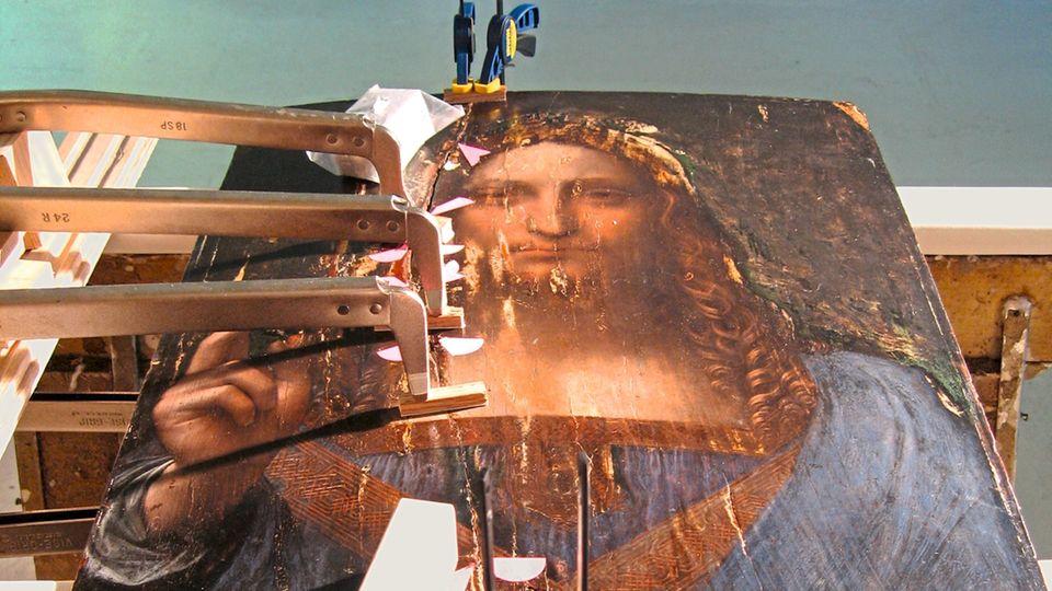 Schicht für Schicht wurden während der Restaurierung die Geheimnisse des Bildes enthüllt