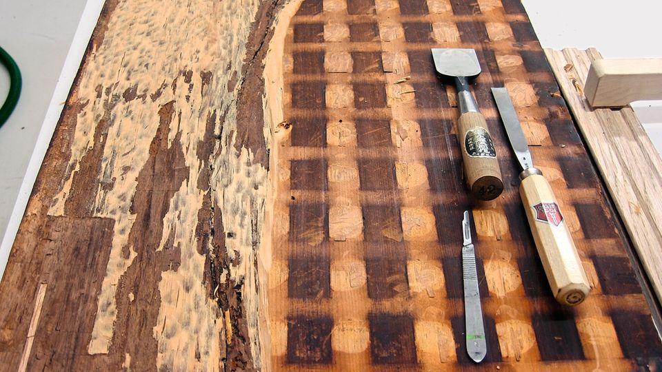 """Die letzte Spur des """"Salvator Mundi"""", die Simon in den englischen Archiven findet, datiert von 1958: Cooks Nachfahren lassen die Kunstsammlung versteigern. Der als Kopie einer Kopie geltende Christus ging für 45 Pfund Sterling an eine Person namens Kunz"""