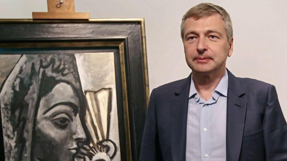Der russische Milliardär Dmitrij Rybolowlew
