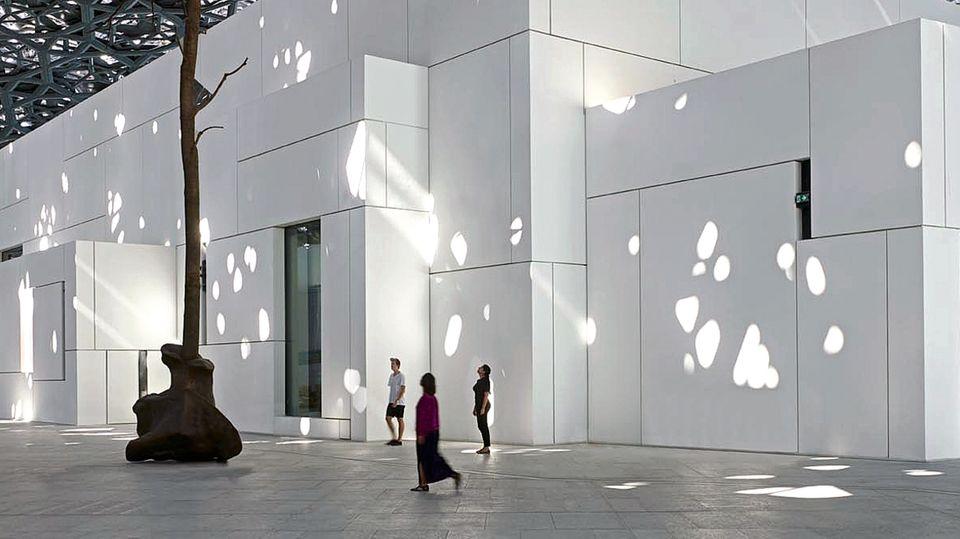 """Neuer Wohnort: Der """"Salvator Mundi""""wird ab dem 18. September im Louvre in Abu Dhabi zu sehen sein"""