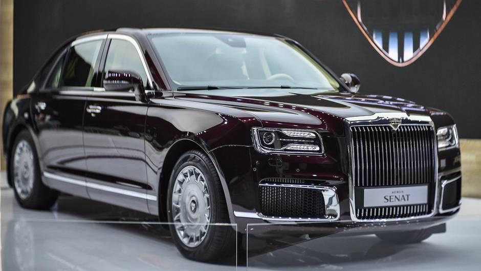 beast auf russisch putins limousine aurus geht in den. Black Bedroom Furniture Sets. Home Design Ideas