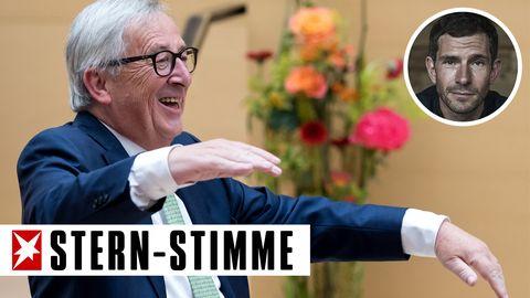 Juncker und die Umfrage zur Zeitumstellung?Klar, beim Beschweren ist der Deutsche ganz vorne dabei