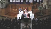 Trauerfeier für den verstorbenen US-Senator John McCain in Washington