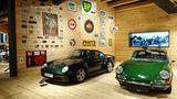 Porsche 911 Targa von 1967 und Porsche 959 von 1988
