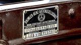 Mercedes 500 K Spezial-Roadster - stammt aus dem Jahre 1935