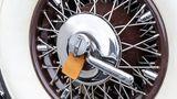 Mercedes 500 K Spezial-Roadster - Detailarbeit auch am Ersatzrad