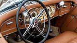 Das spektakuläre Cockpit des Mercedes 500 K Spezial-Roadster
