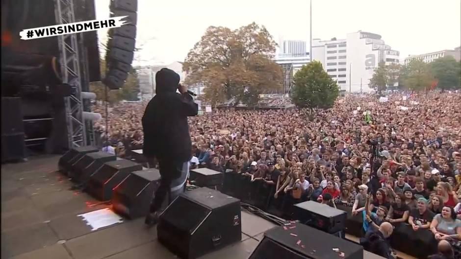 Chemnitz: Trettmann bei #wirsindmehr