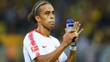 Yussuf Poulsen von RB Leipzig gehört zu den Dänen-Profis, die die kommenden Spiele boykottieren