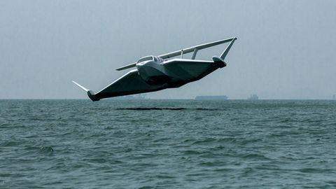 Bei rauer See werden die Passagiere bei Start und Landung kräftig durchgeschüttelt.