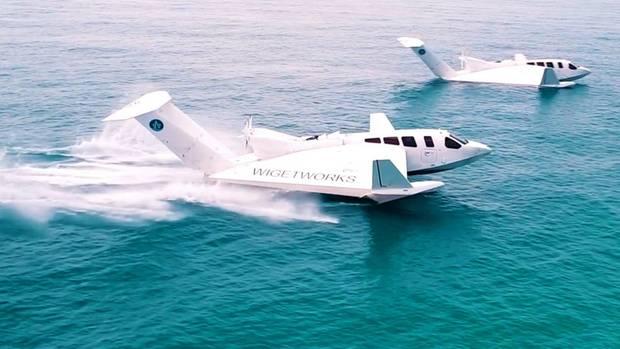 Es ist keine Ausbildung zu einem echten Piloten notwendig, um den Ekranoplan zu starten.
