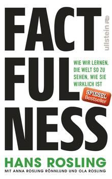 """Buchcover """"Factfulness"""" von Hans Rosling"""