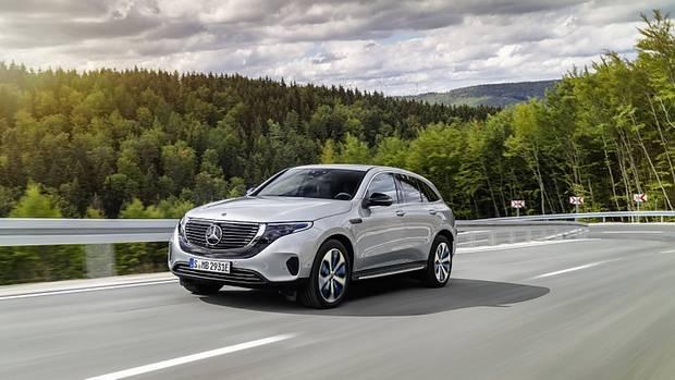 Mercedes EQ C - 450 km elektrischer Reichweite
