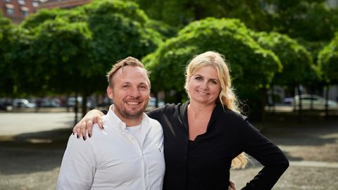 Die Ankerkraut-Gründer Anne und Stefan Lemcke.