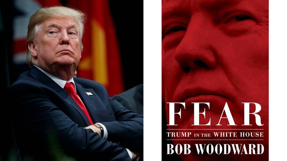 Reaktion des US-Präsidenten: Bob Woodwards Enthüllungsbuch macht Trump richtig wütend