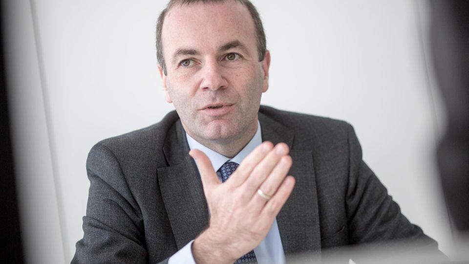 Manfred Weber (CSU) istFraktionsvorsitzender der Fraktion der Europäischen Volkspartei (EVP) im Europäischen Parlament