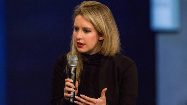 Theranos-Gründerin Elizabeth Holmes