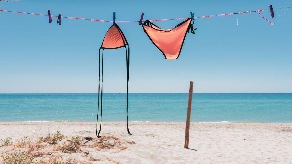 6. Badezeug: Vom Meer in die Traufe  Ein Klassiker der vergessenen Kleidungsstücke: Badebekleidung bleibt häufig beim Trocknen auf der Terrasse oder dem Balkon zurück. Die Erinnerung daran kommt spätestens daheim beim Packen der Tasche für das Freibad.