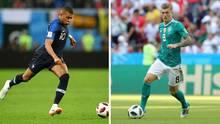 Deutschland - Frankreich - Nations League - Auftakt - TV