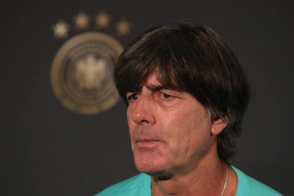 Joachim Löw wirkte auf der PK zum Frankreich-Spiel ruhig und konzentriert