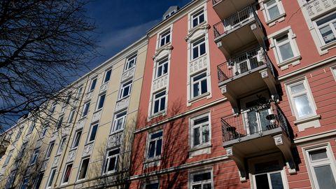 Mietpreisbremse: Häuser in Eppendorf