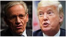 Zwischen Woodward und Trump entspann sich Gespräch ohne Sinn und Ziel