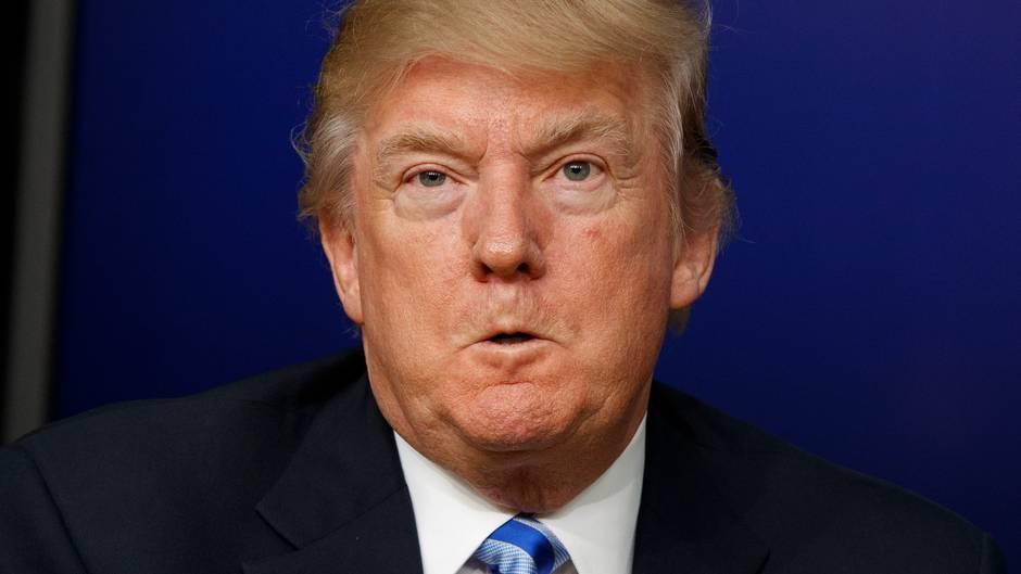 """Donald Trump ist wütend nach einem Gastbeitrag in der """"New York Times"""""""