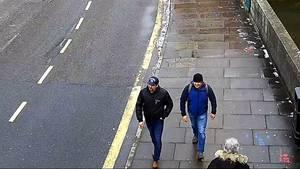 Skripal-Attentat: Alexander Petrow und Ruslan Boschirow in Salisbury am 4. März 2018