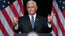 """Mike Pence bestreitet, am Beitrag in der """"New York Times"""" beteiligt zu sein"""