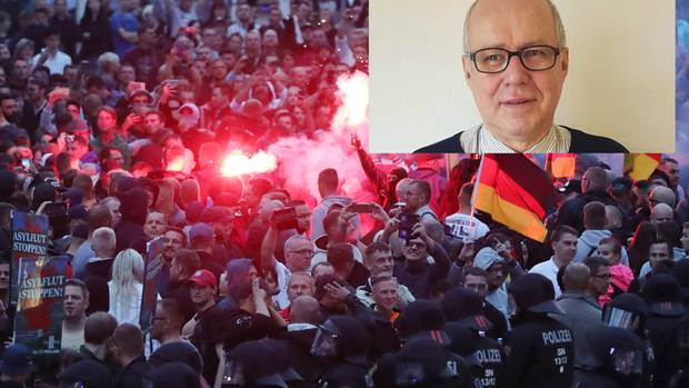 Der Historiker Harry Waibel erklärt, warum der Neonazismus keine Neuerscheinung in Sachsen ist